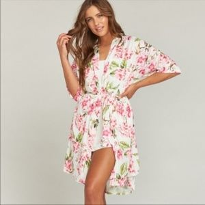 SHOW ME YOUR MUMU BRIE ROBE - ONE SIZE